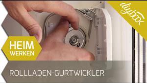Embedded thumbnail for Rollladen-Gurtwickler tauschen
