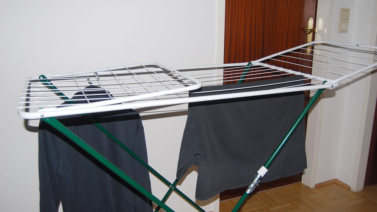 w sche trocknen auch in der mietwohnung nicht verboten in. Black Bedroom Furniture Sets. Home Design Ideas